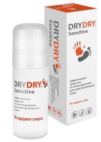 Dry Dry Sensitive и Light – защита от пота и забота о коже в одном флаконе!